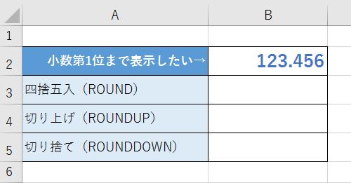 小数点以下切り捨て エクセル ROUNDDOWN関数で小数点以下を切り捨てる方法